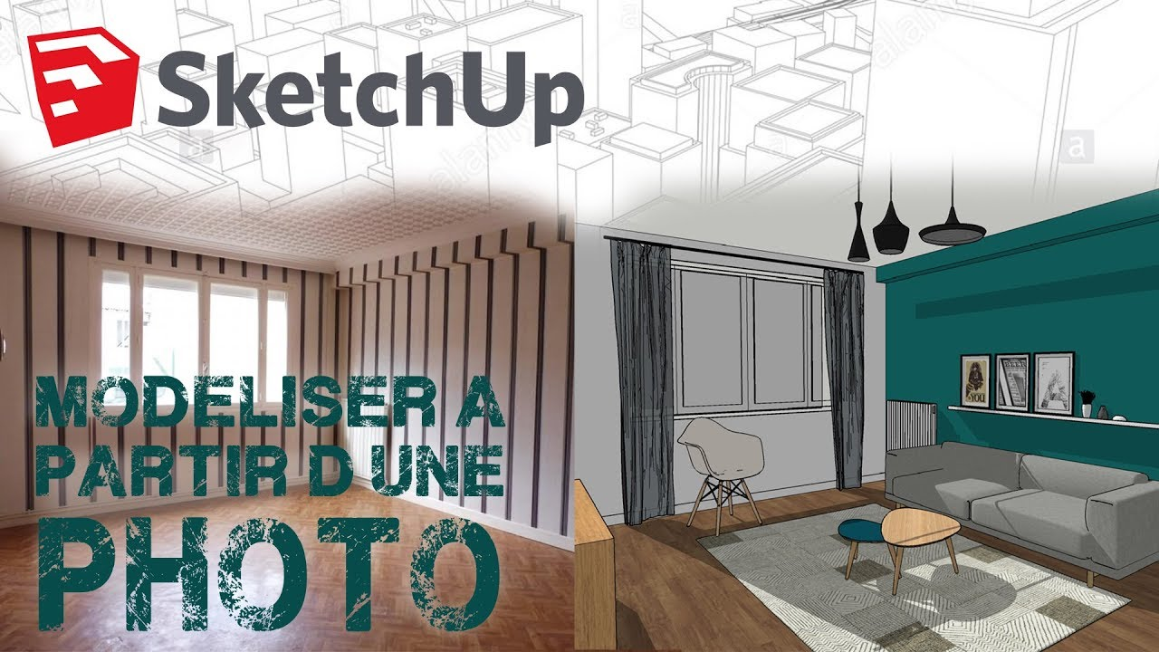 formation sketchup debutant home staging virtuel 3d